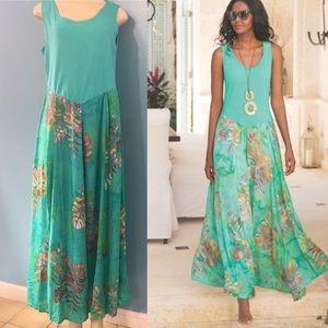 Soft surroundings• Fleur Du Jour Maxi Dress